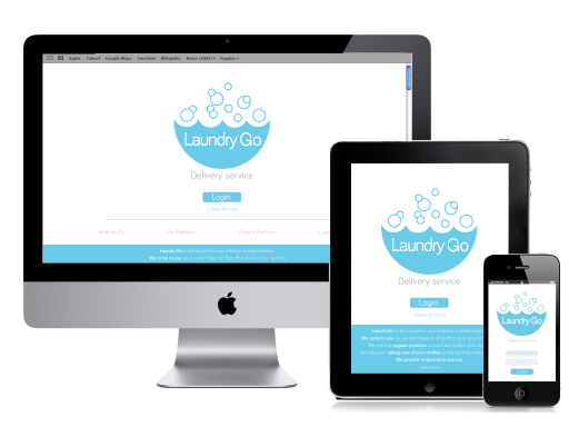 LaundryGo: Mobile web dev